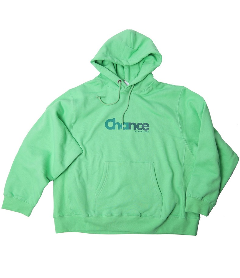 CHANCE HOODY-T(GREEN/기모)