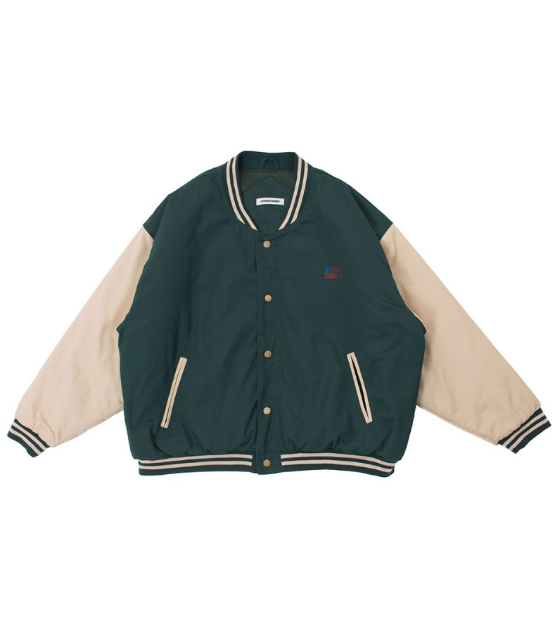 STADIUM JACKET(GREEN)