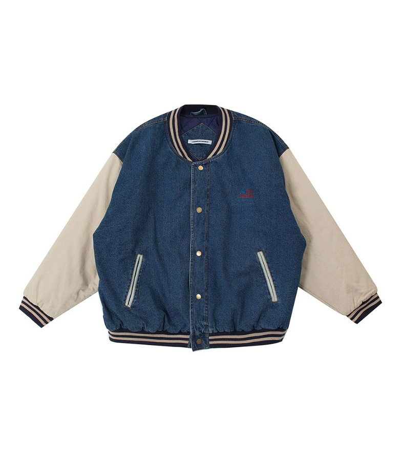 STADIUM JACKET(BLUE)
