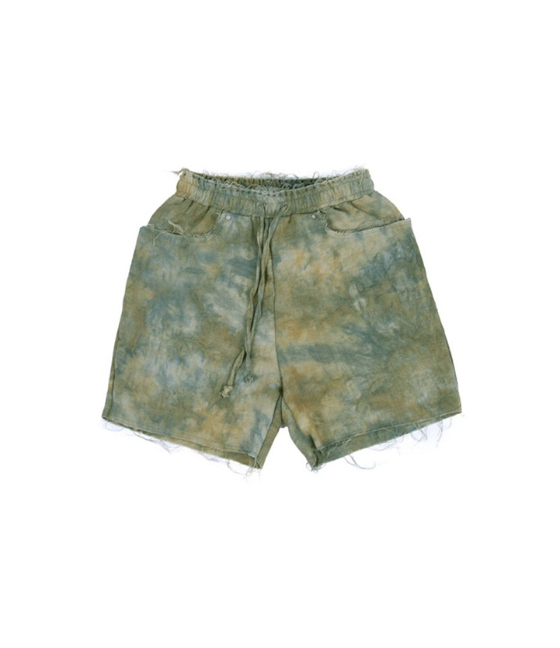 RAW SHORTS(GREEN)