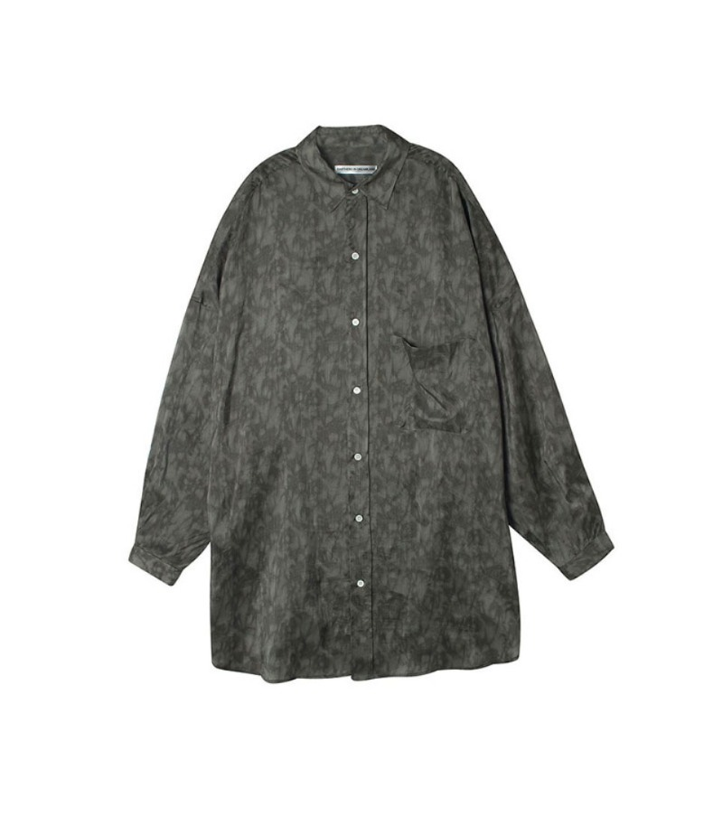 OVERSIZED SHIRT(BROWN)