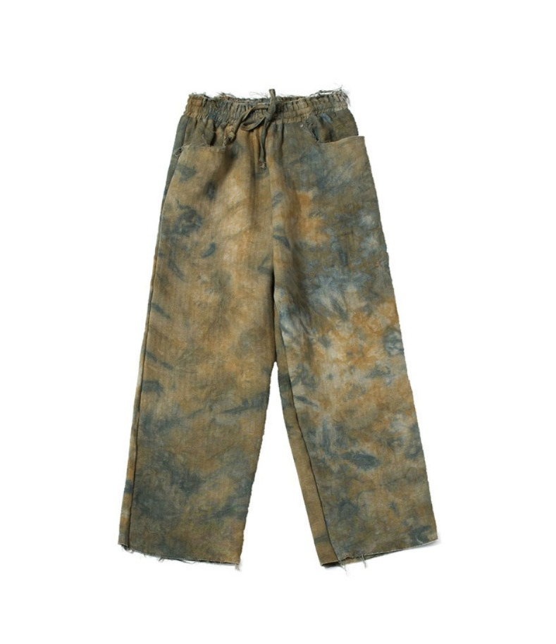 RAW PANTS(GREEN)