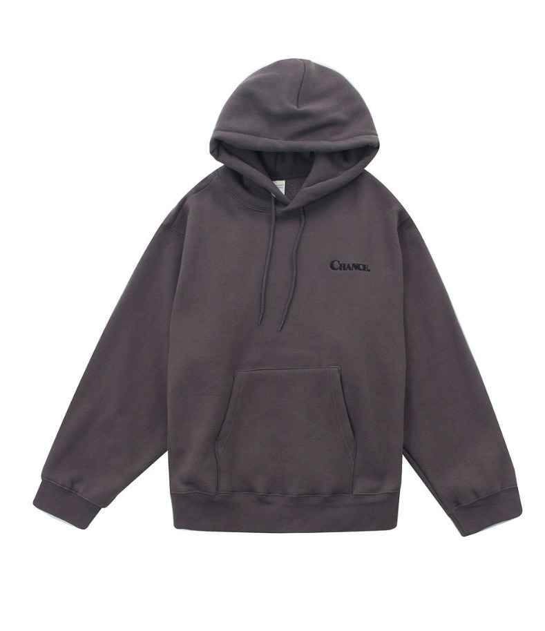 MINI CHANCE HOODY-T(CHARCOAL/기모)