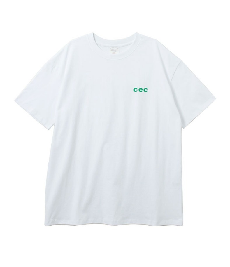 MINI CEC T-SHIRT(WHITE)