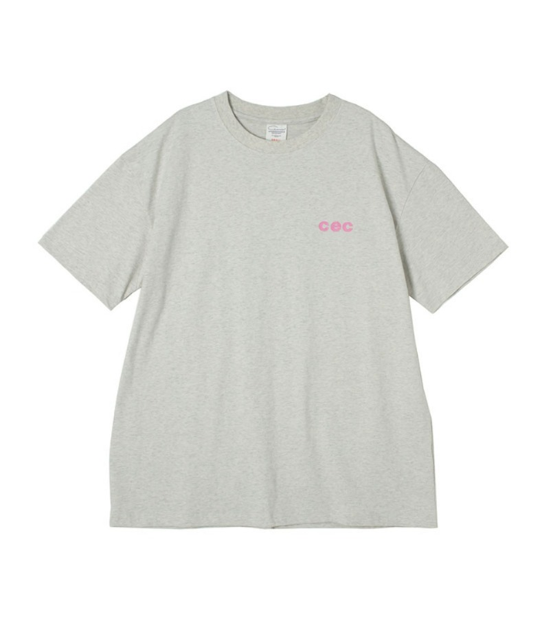MINI CEC T-SHIRT(OATMEAL)