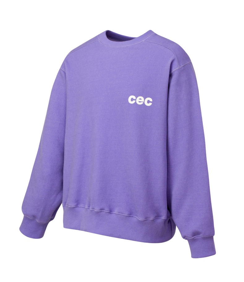 CEC SWEATSHIRT(FADED PURPLE)