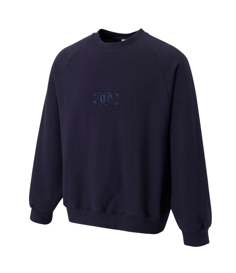 TWISTED LOGO SWEATSHIRT(NAVY)