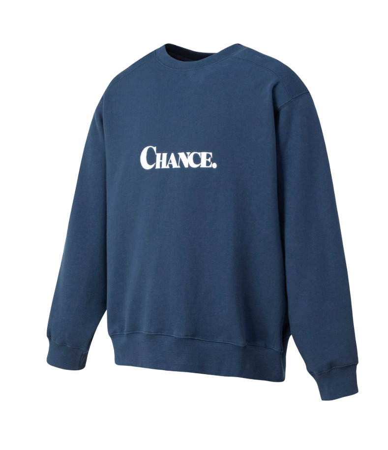 CHANCE SWEATSHIRT(Navy/기모)