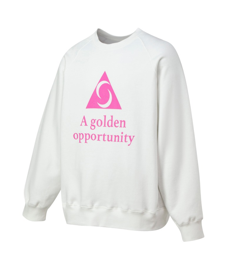 A.G.O SWEATSHIRT(WHITE)