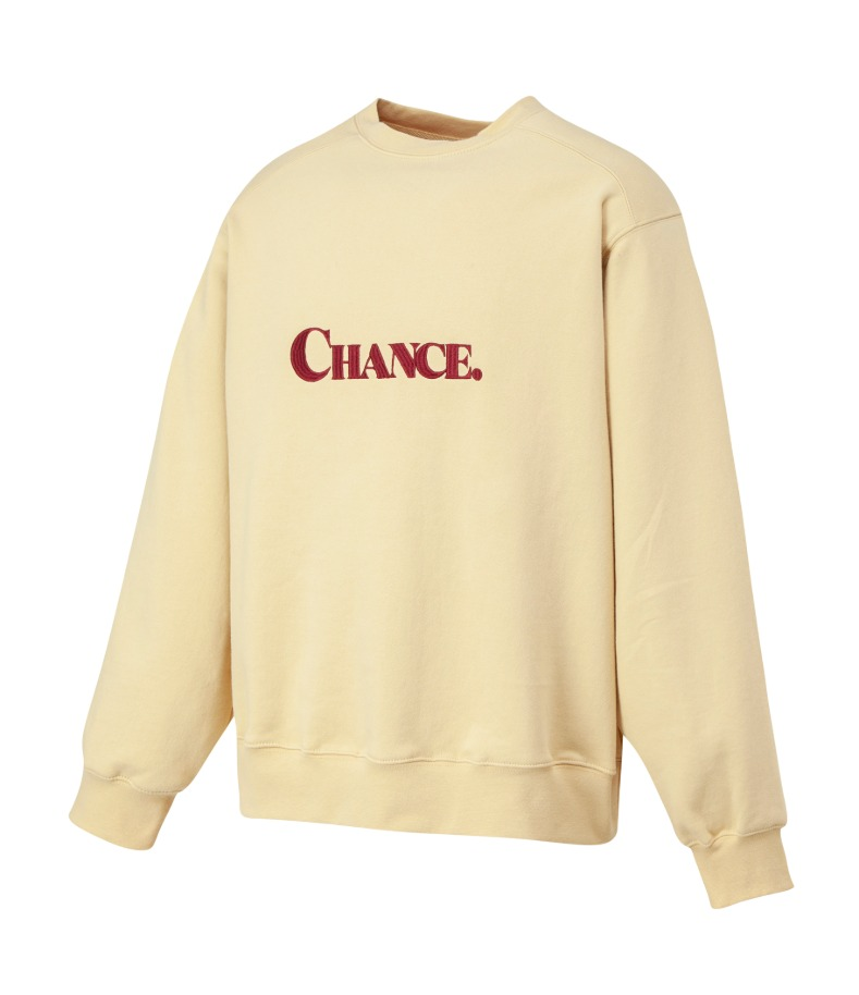 CHANCE SWEATSHIRT(Ivory/기모)