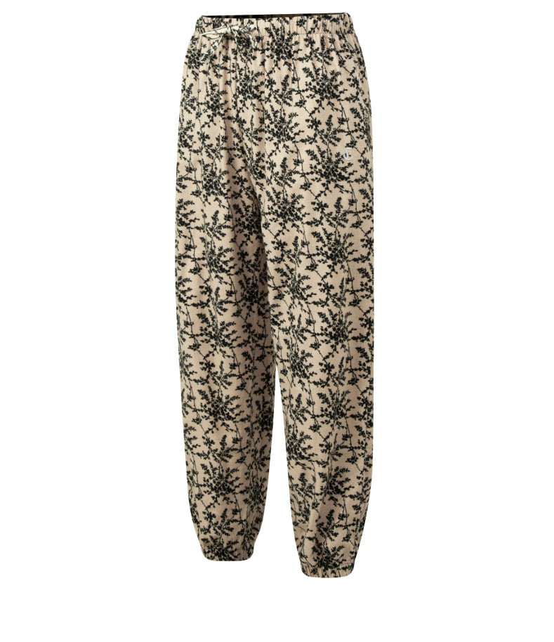 IVORY&GREEN FLOWER LOUNGE PANTS