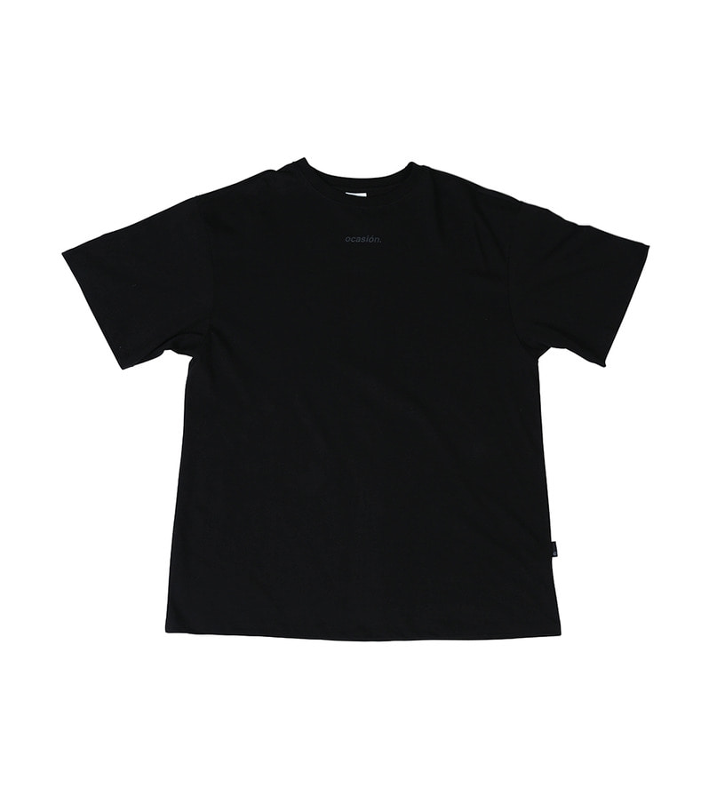 ocasión T-Shirt(Black)