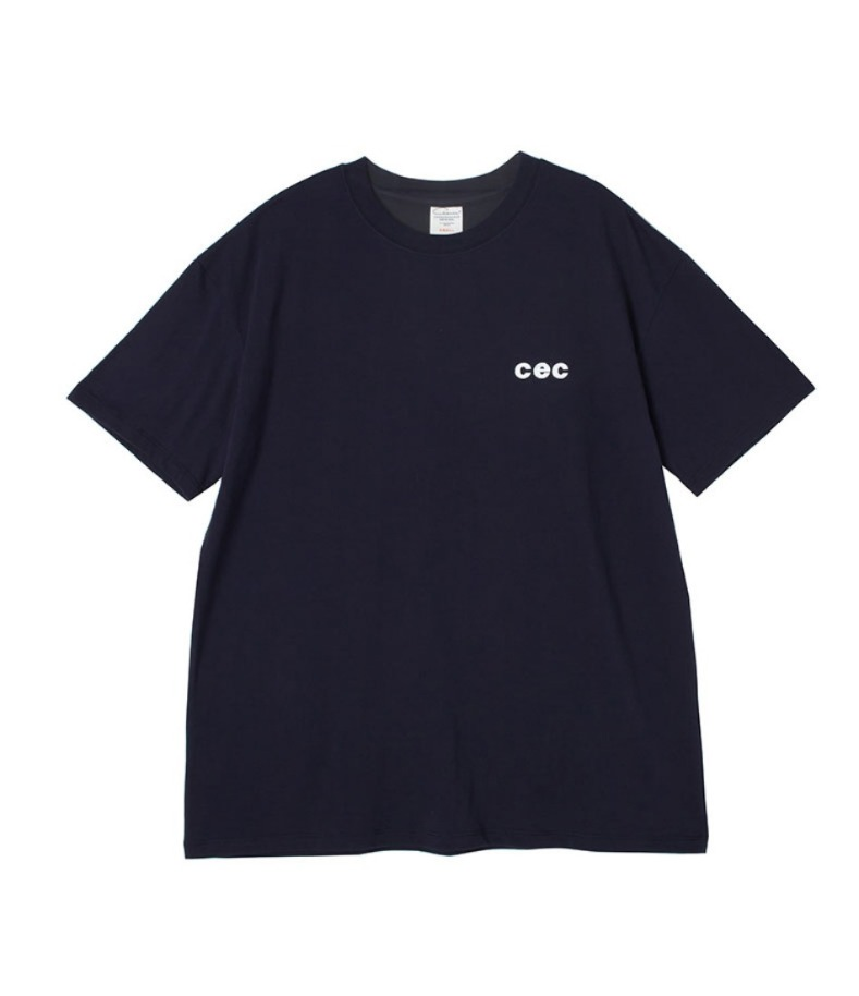 MINI CEC T-SHIRT(NAVY)