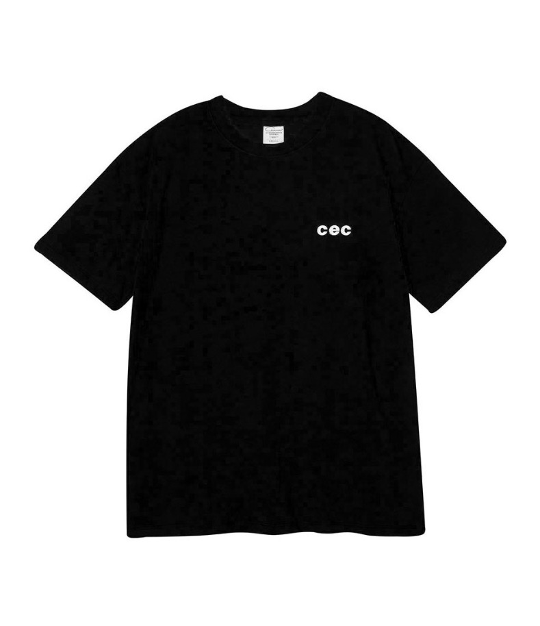 MINI CEC T-SHIRT(BLACK)