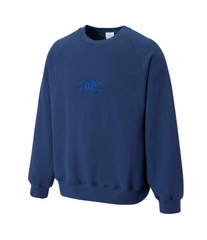 TWISTED LOGO SWEATSHIRT(BLUE)