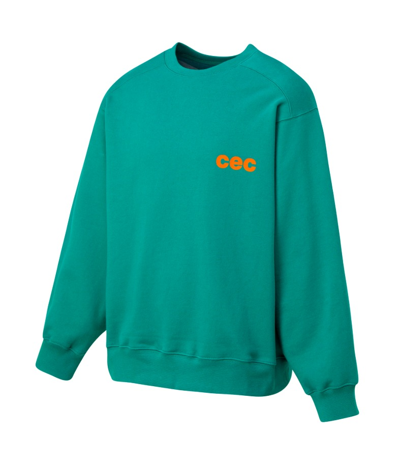 CEC SWEATSHIRT(VNTG Green/기모)